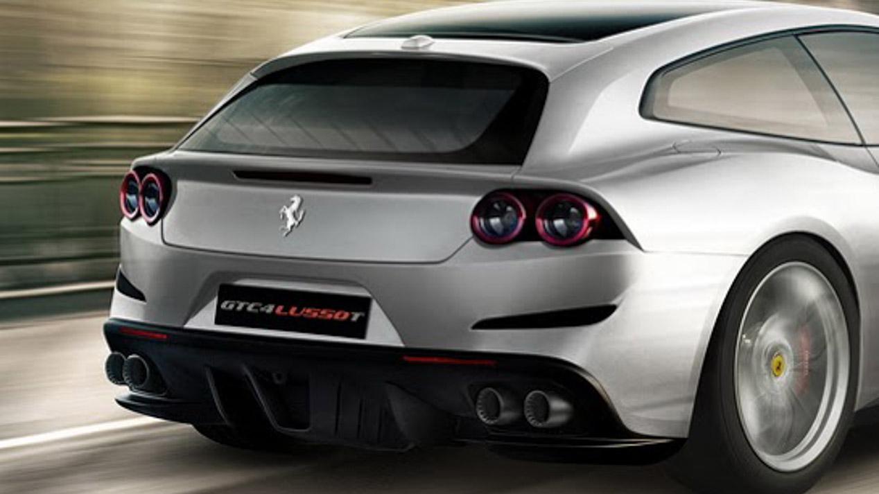 Ferrari GTC4 Lusso T, con Turbo y sin tracción total para París