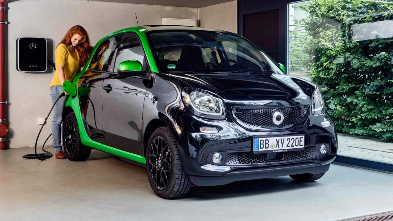 Smart eléctricos: la actual gama Smart al completo se electrifica