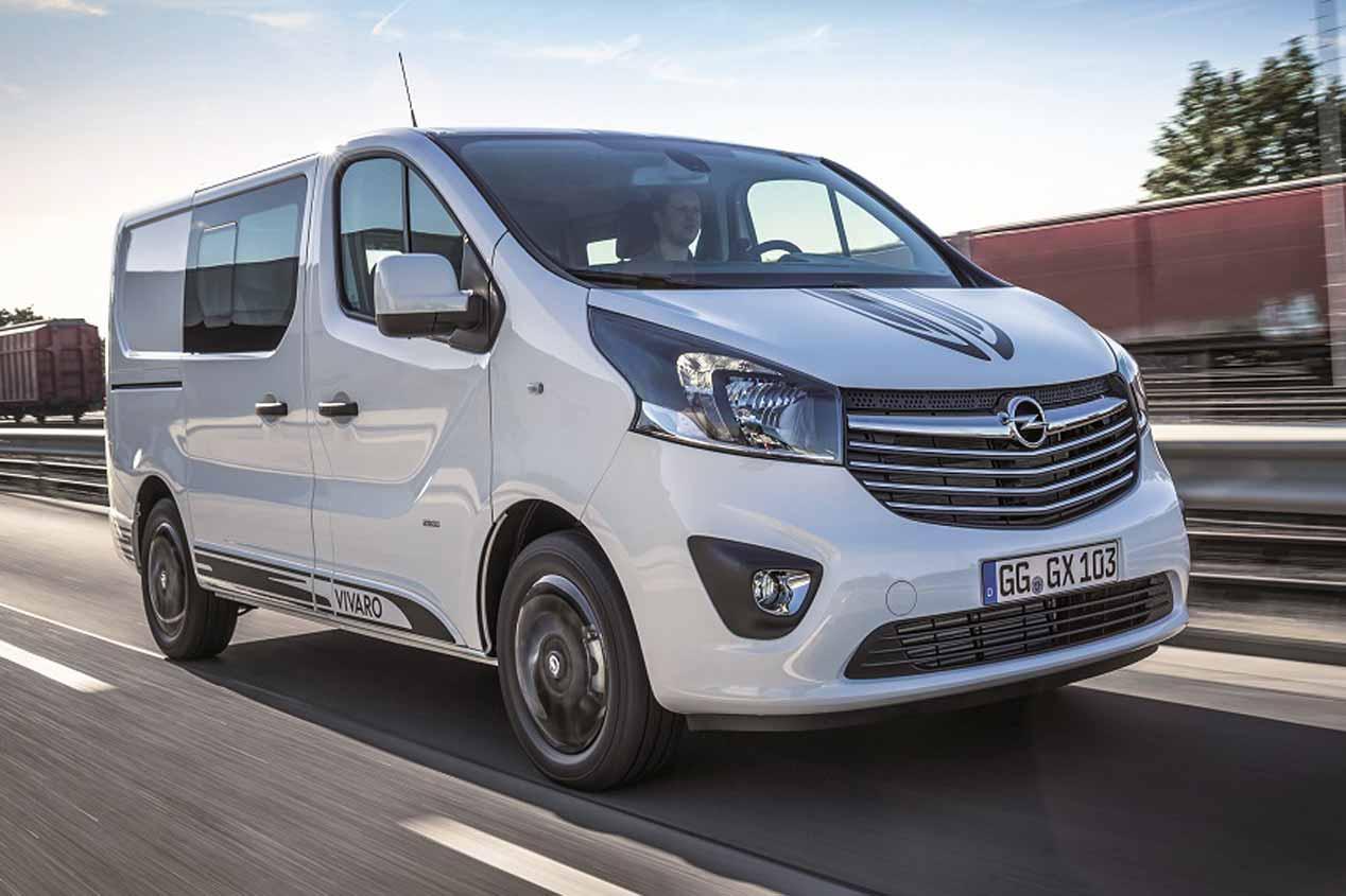 Opel Vivaro Sport, sus mejores fotos