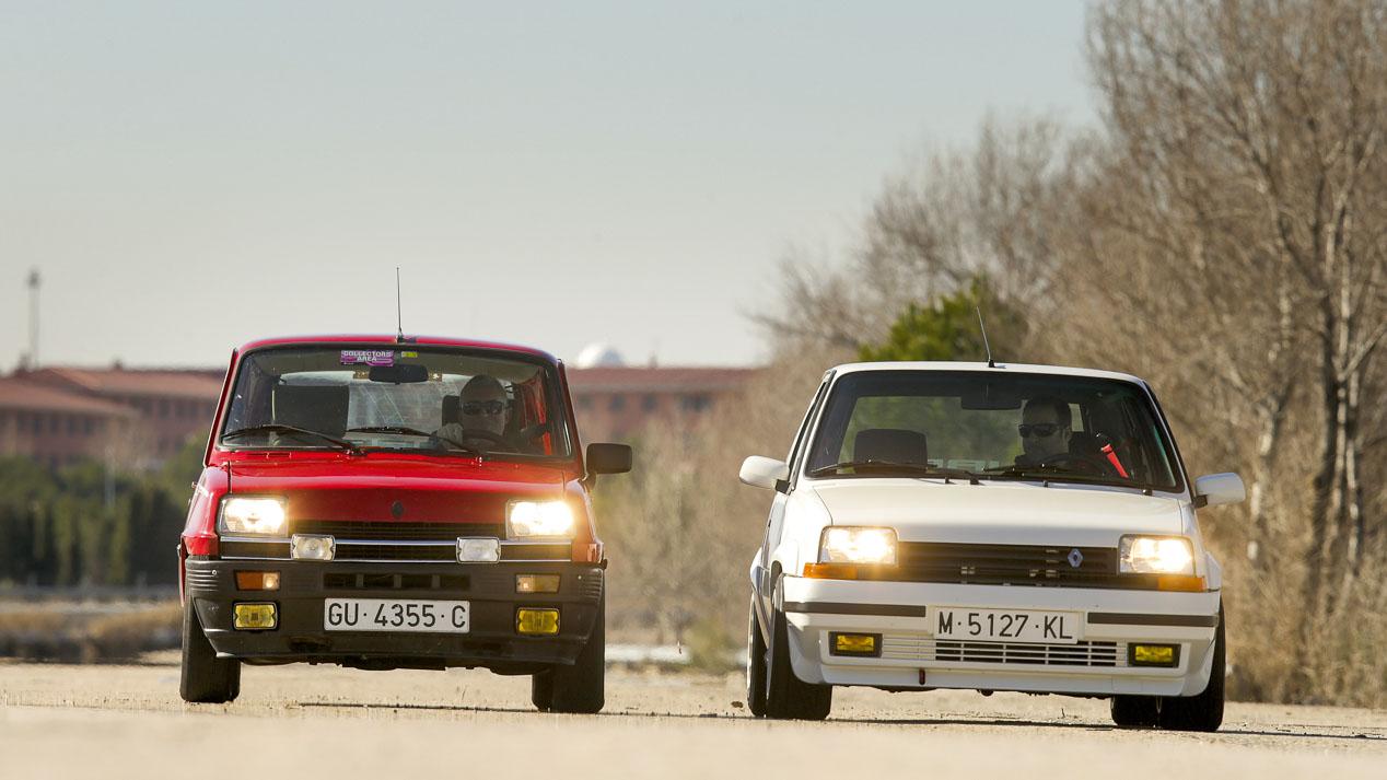 Los deportivos de Renault de los 80