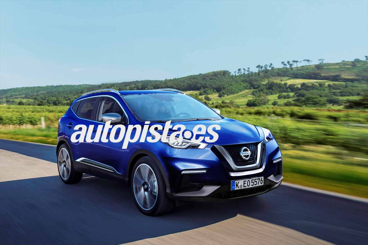 Nissan Qashqai 2017, sus fotos