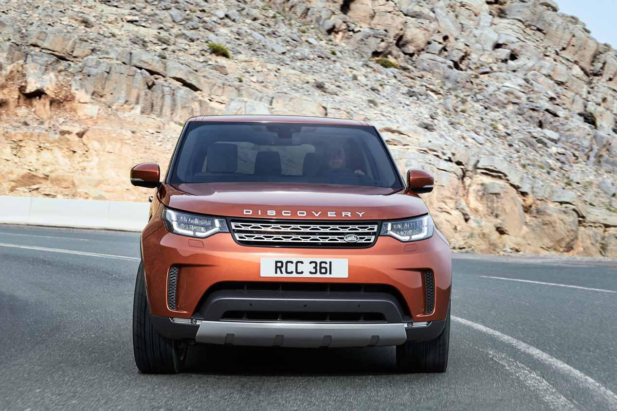 Land Rover Discovery 2017: primeras imágenes