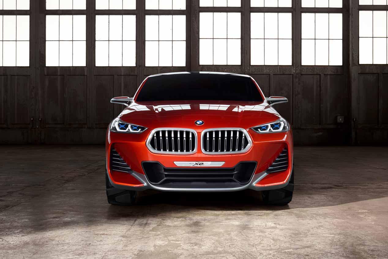 BMW Concept X2: primeras fotos del futuro X2