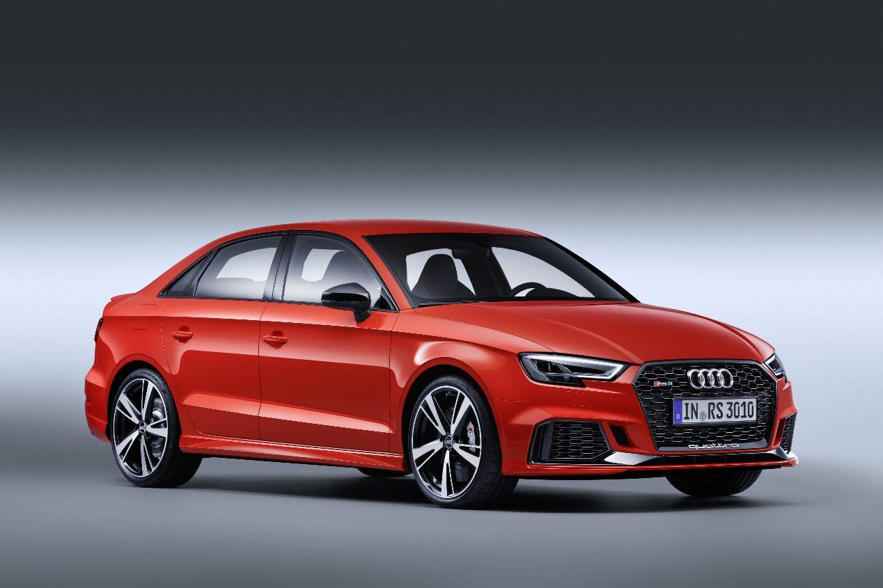 Audi RS 3 Sedan: todas las fotos del nuevo deportivo