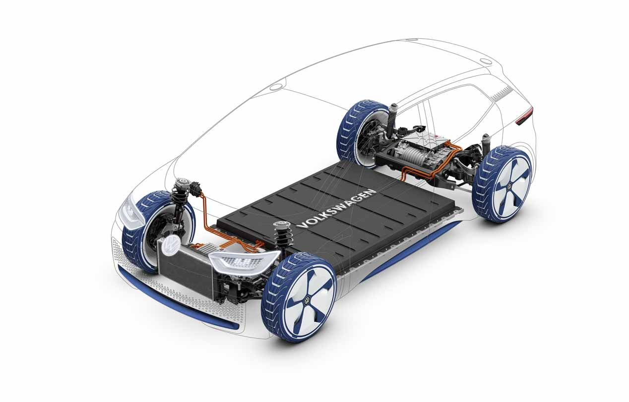 VW I.D. la plataforma eléctrica MEB