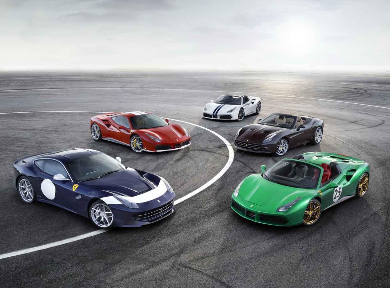 Las versiones especiales con las que Ferrari celebra su 70 cumpleaños