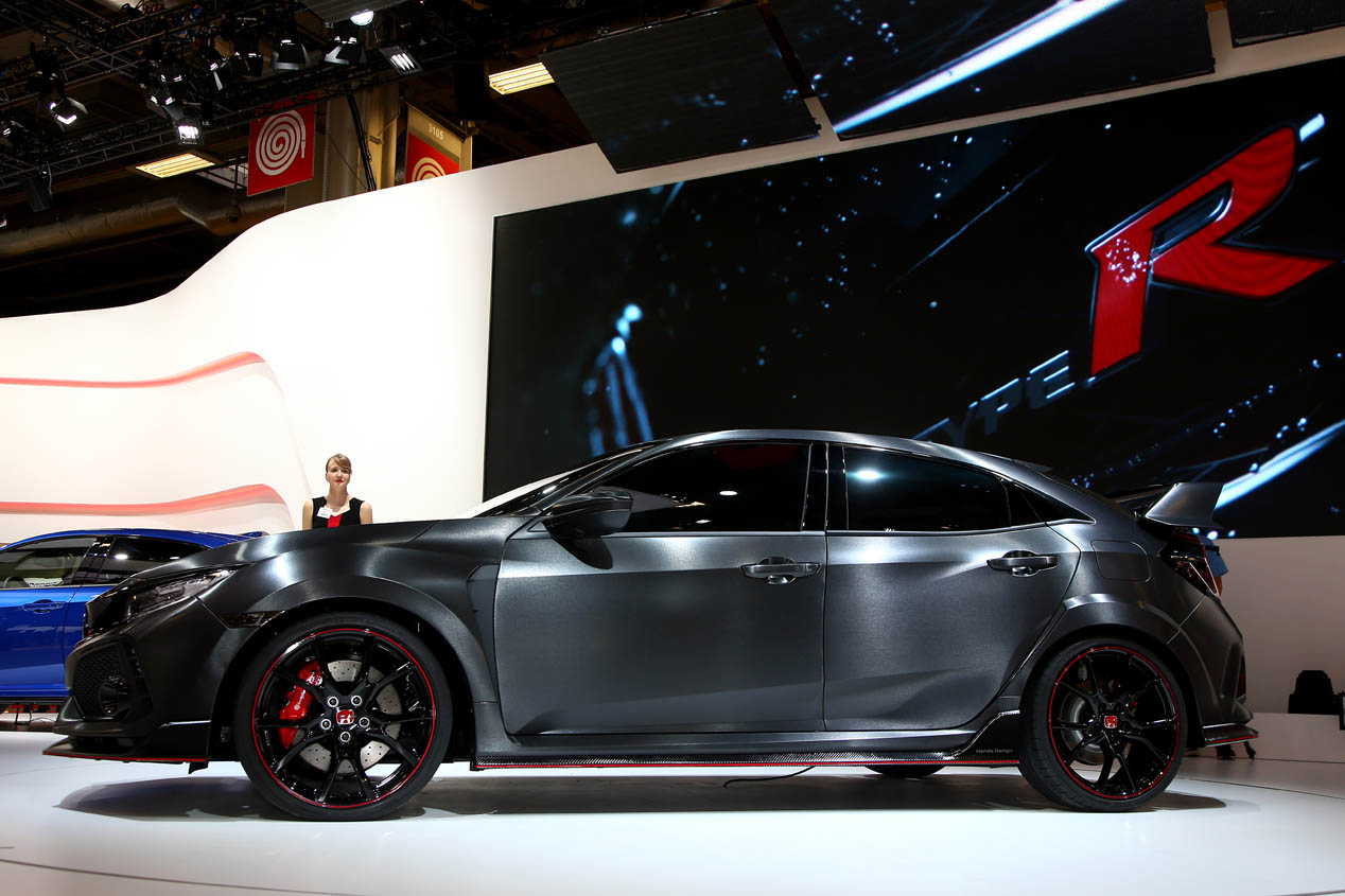 Honda Civic Type R 2017 prototipo