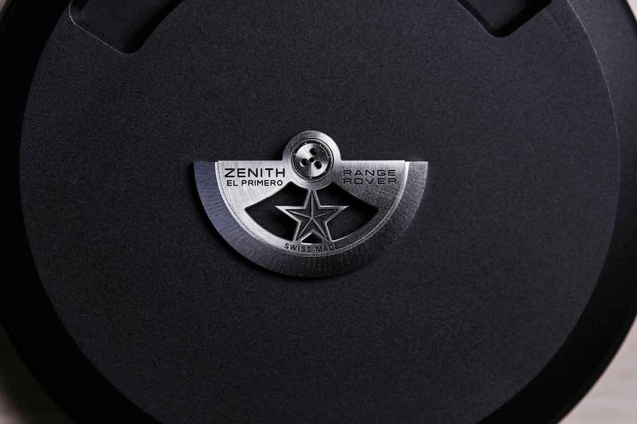 'Zenith El Primero Range Rover', la filosofía de Land Rover convertida en reloj