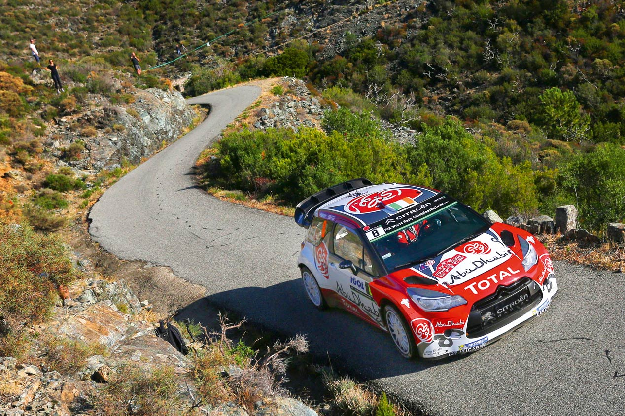 Tour de Córcega: Ogier, más cerca de ser campeón