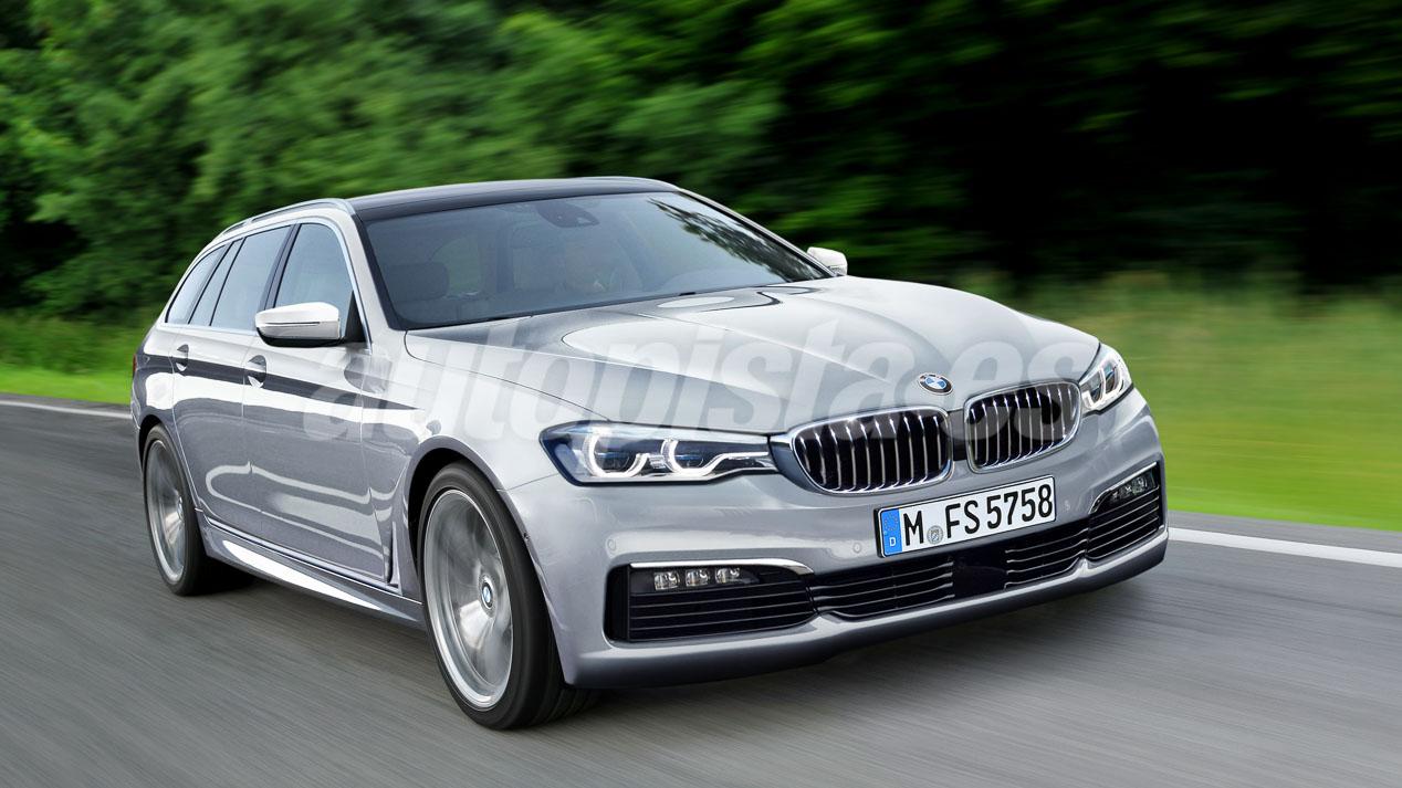 Así será el BMW Serie 5 de 2017