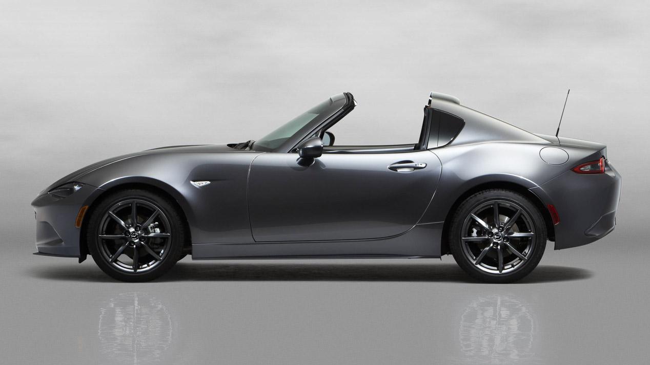 Mazda MX-5 RF, ya a la venta el Miata con techo metálico retráctil