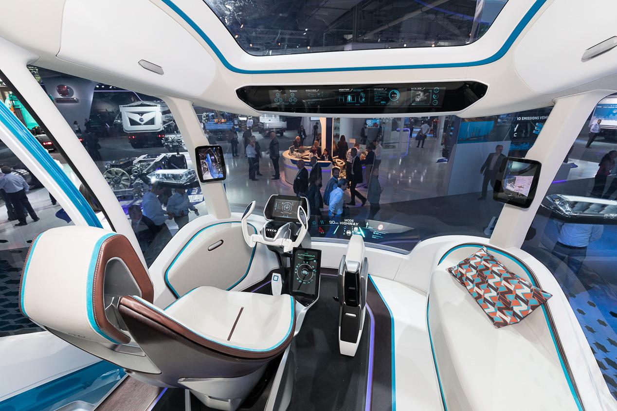 Las fotos del camión del futuro, el Iveco Z-Truck