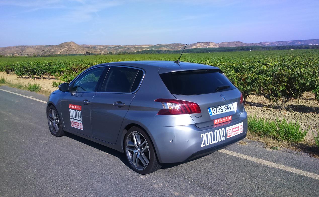 Peugeot 308 1.2 PureTech 130, superados los 150.000 km