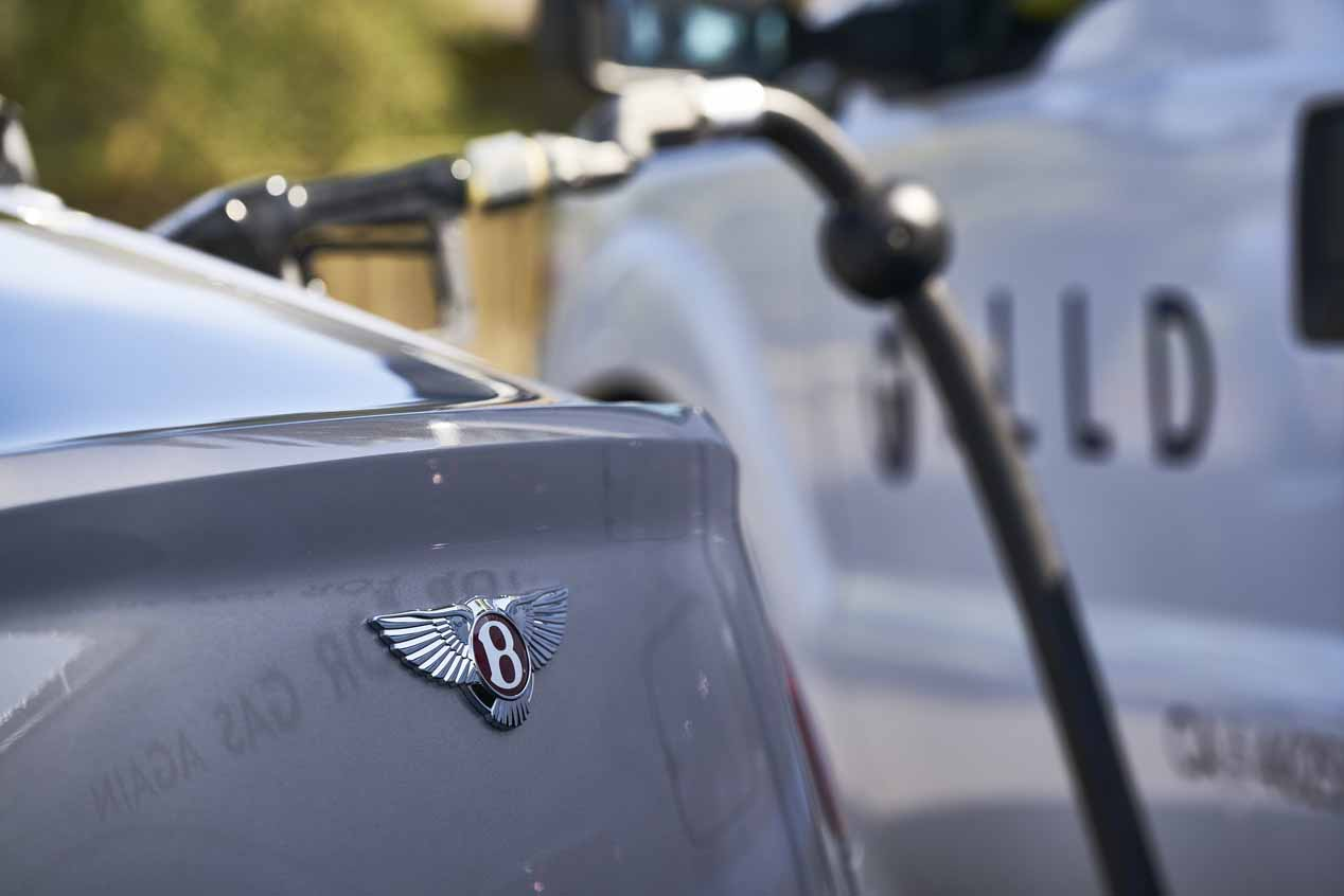 Los Bentley en California no necesitarán ir a repostar
