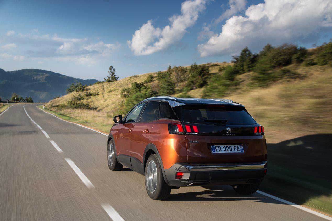 Peugeot 3008, por fuera