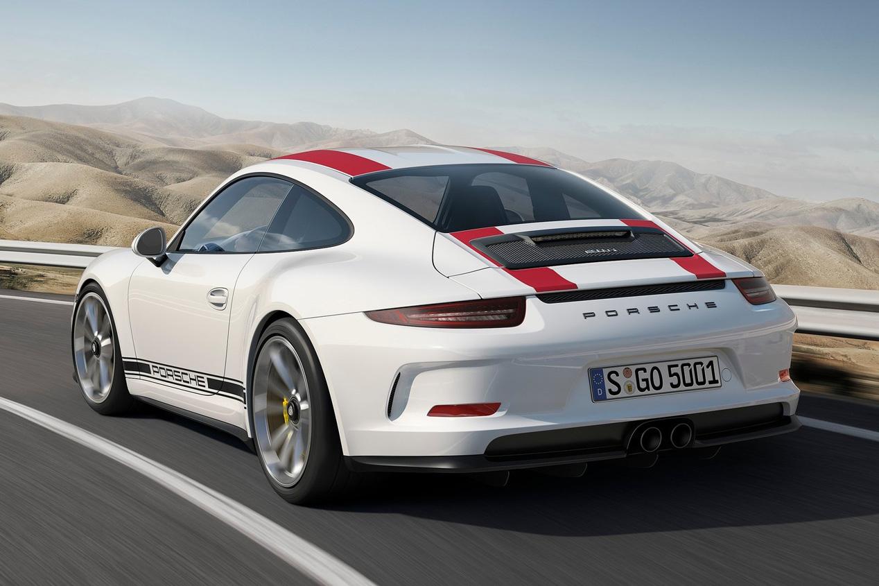 Prueba del Porsche 911 R, toda una bestia