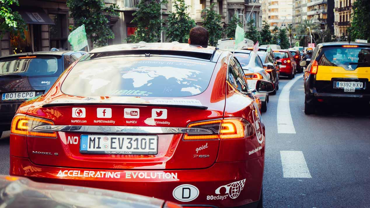 Vuelta al mundo con un coche eléctrico