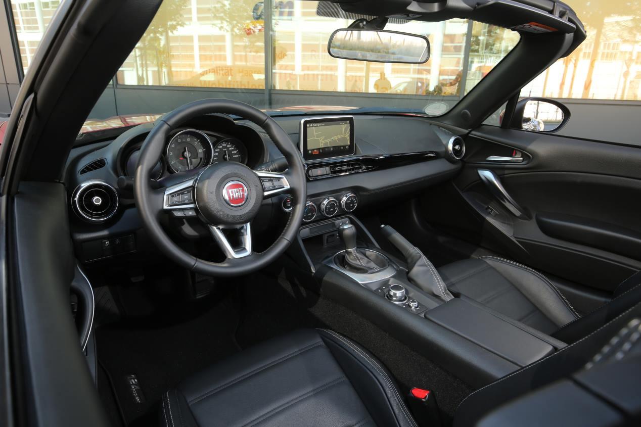 Fiat 124 Spider: primeras impresiones