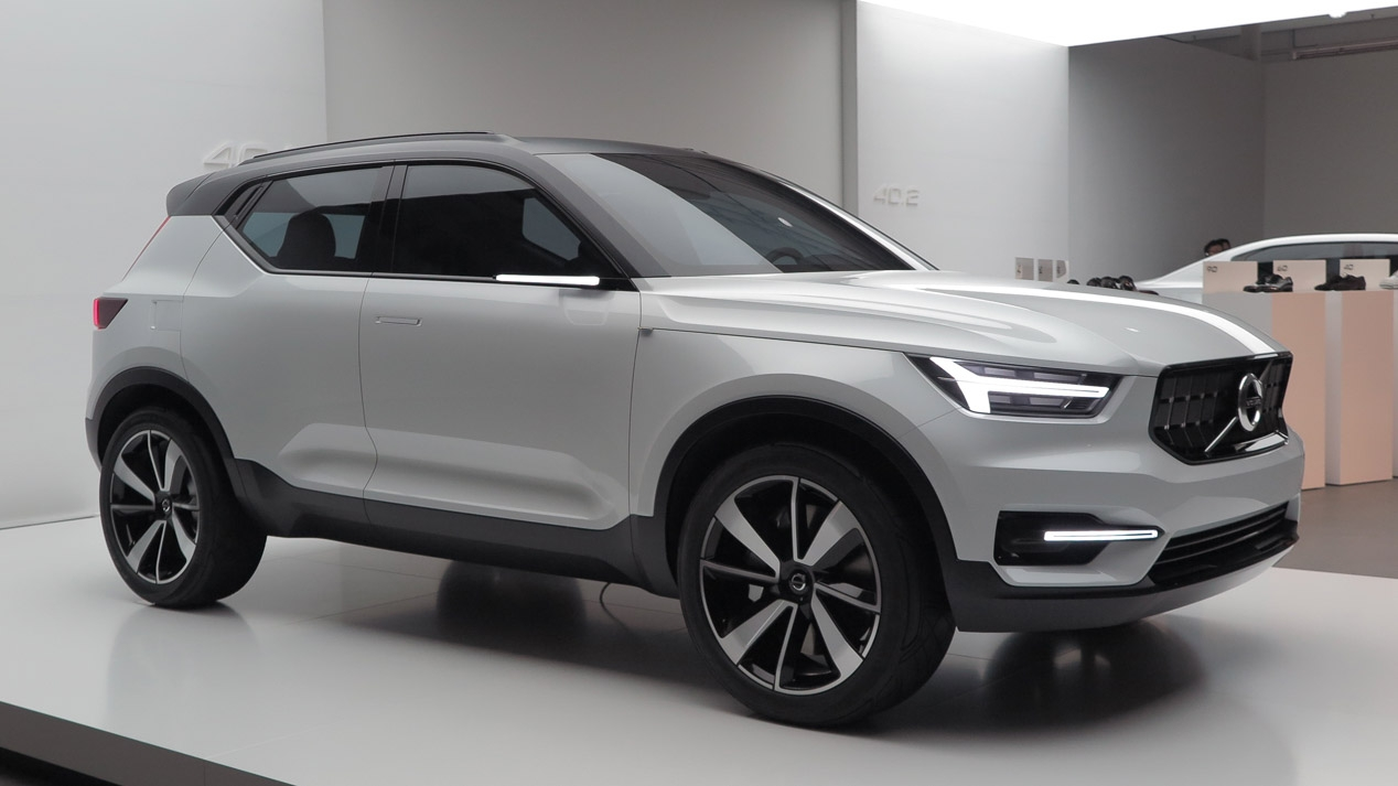 volvo xc40 un nuevo suv a la venta en 2018. Black Bedroom Furniture Sets. Home Design Ideas