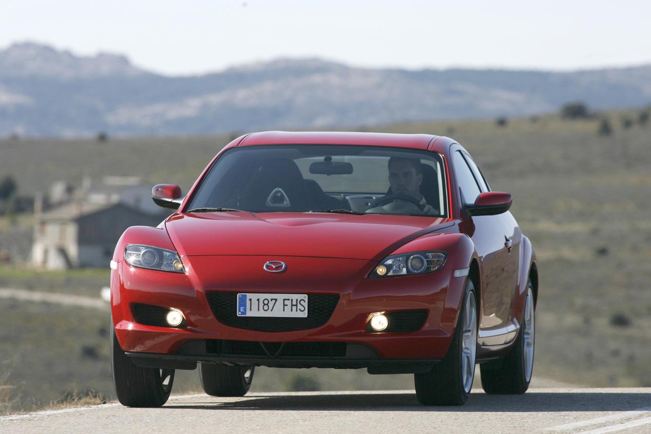 ¿Cuál es el precio de un Mazda RX-8 de ocasión?
