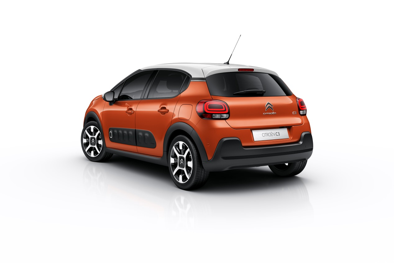 Citroën C3: exterior