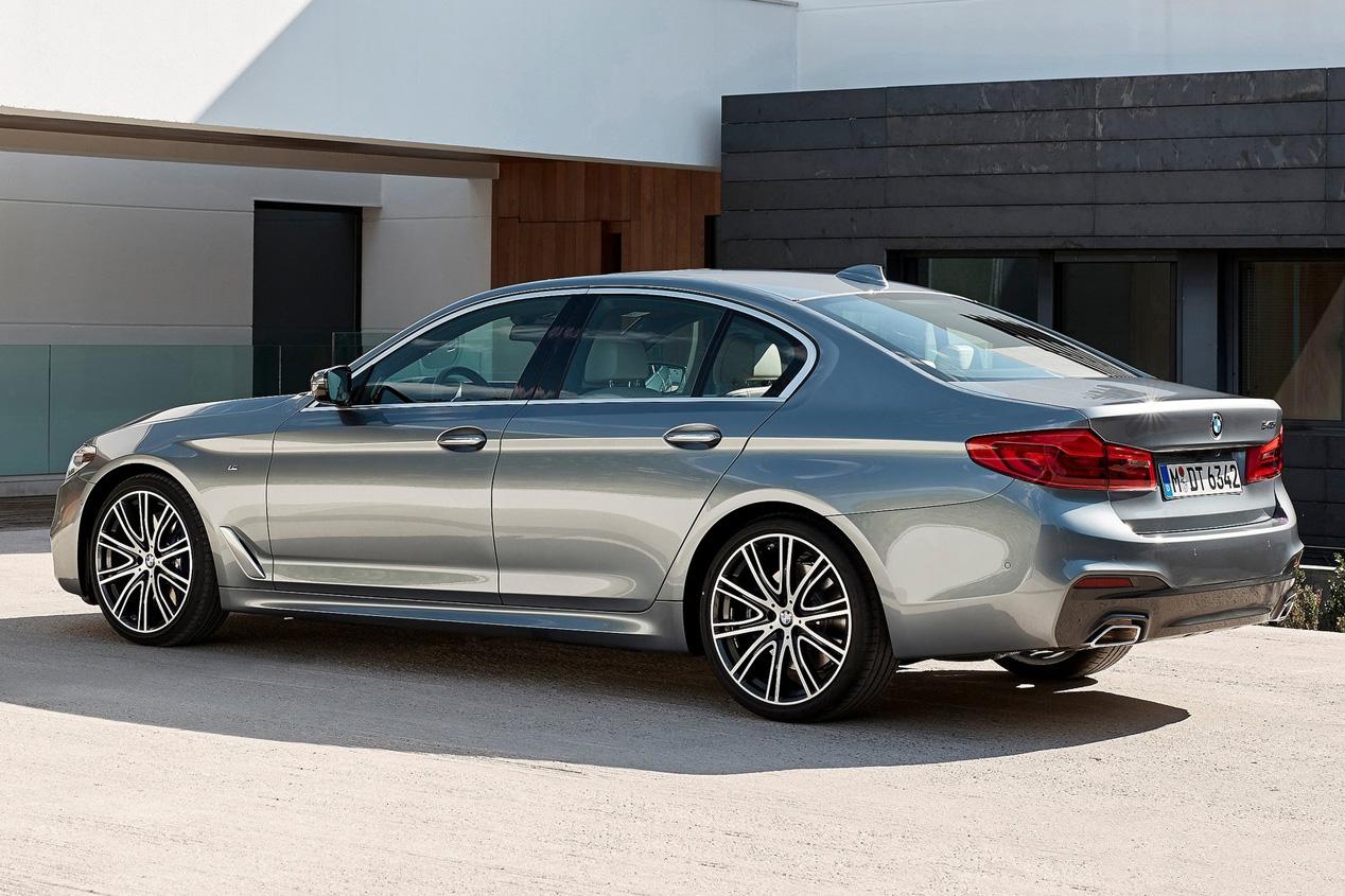 BMW Serie 5 2017: las fotos de uno de los coches más tecnológicos del momento