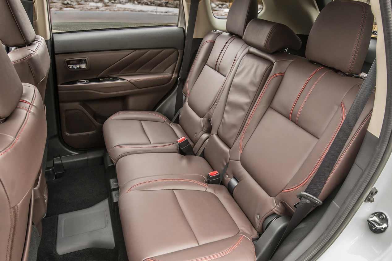 Mitsubishi Outlander PHEV 2017, sus mejores imágenes