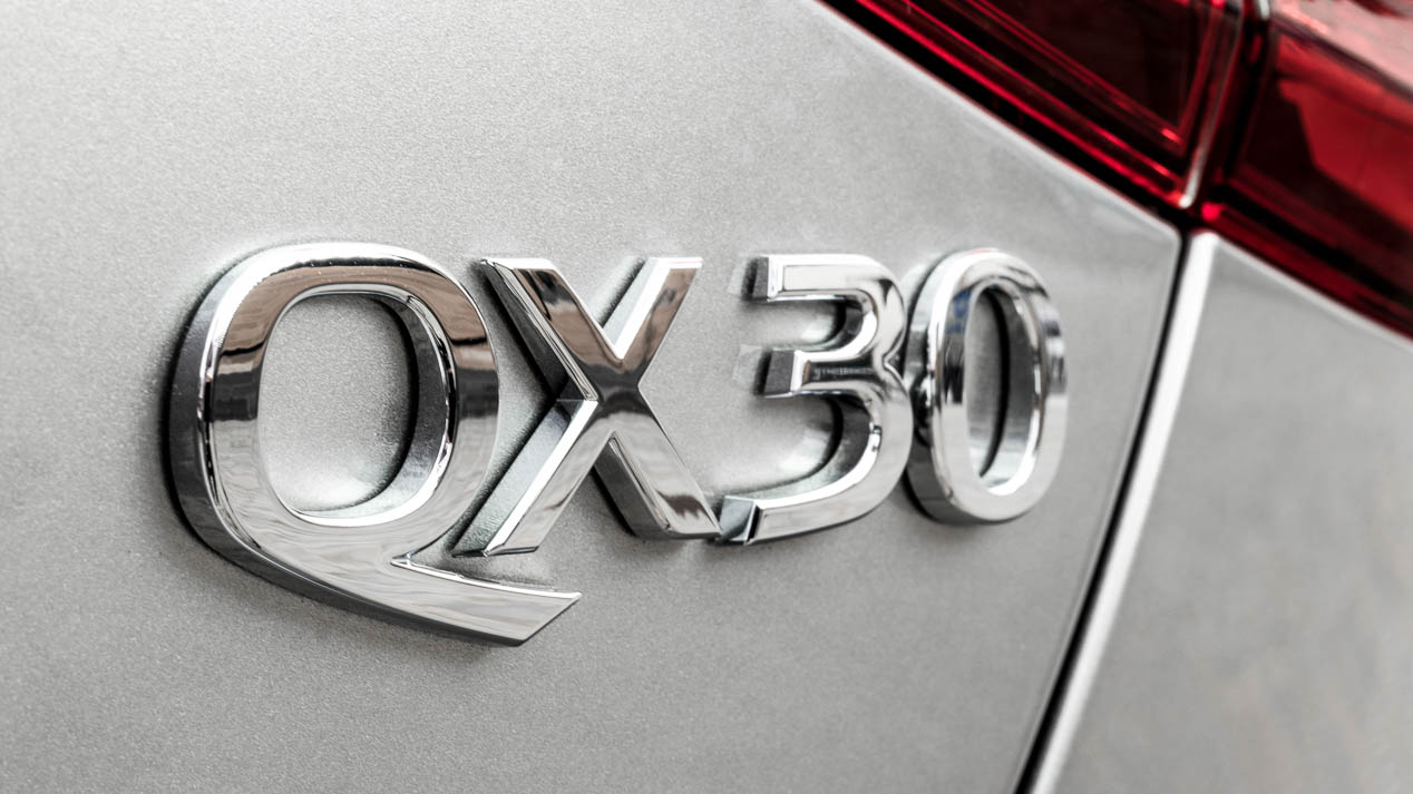 Conducimos el Infiniti QX30
