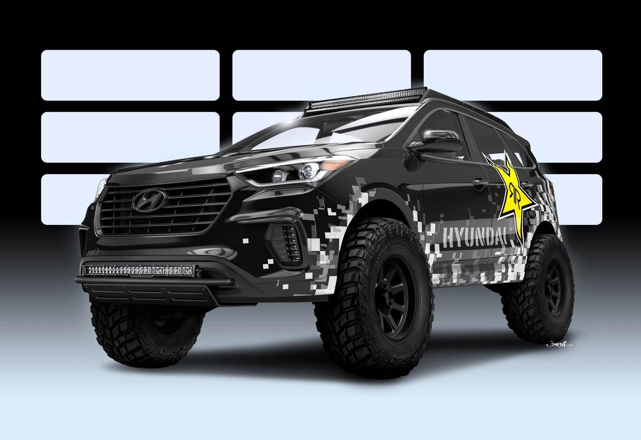 Hyundai en el SEMA 2016