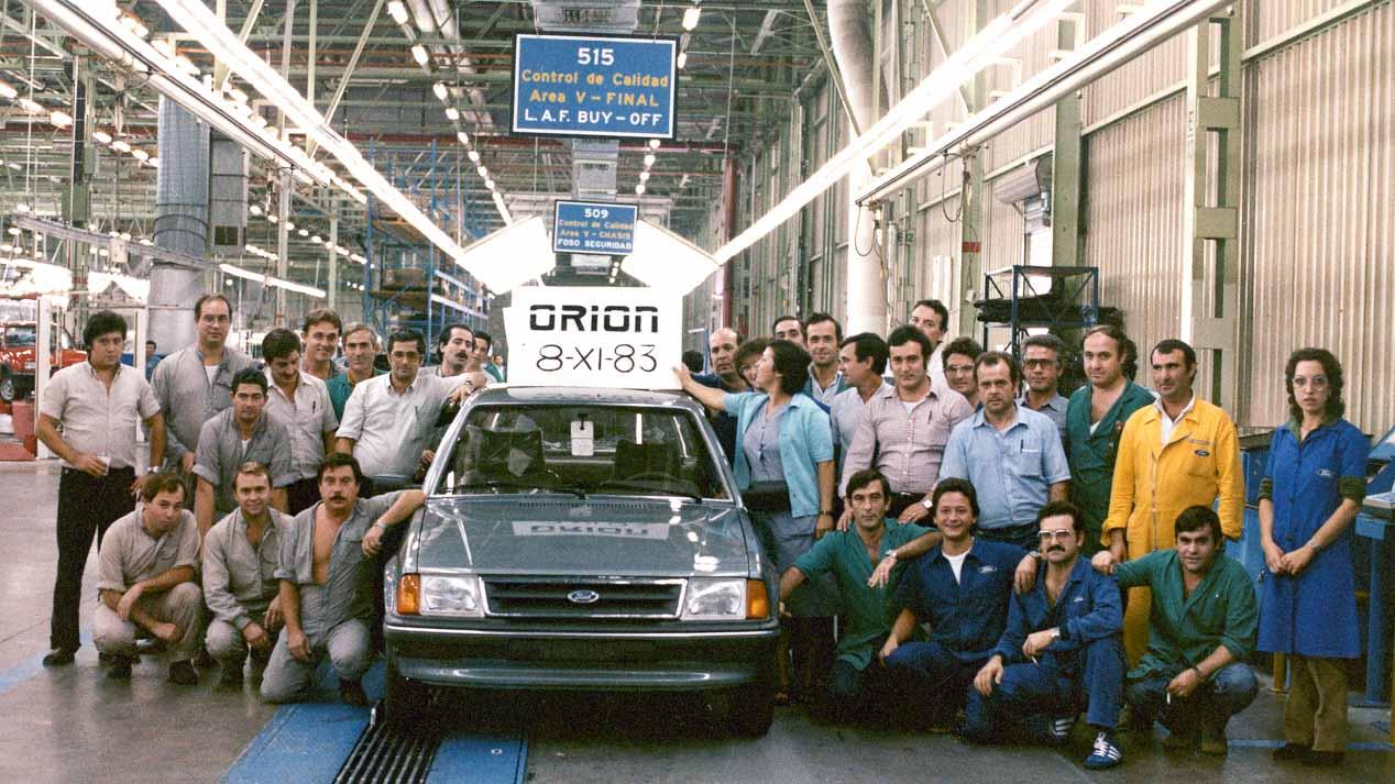 40 aniversario de la factoría de Almussafes de Ford en imágenes