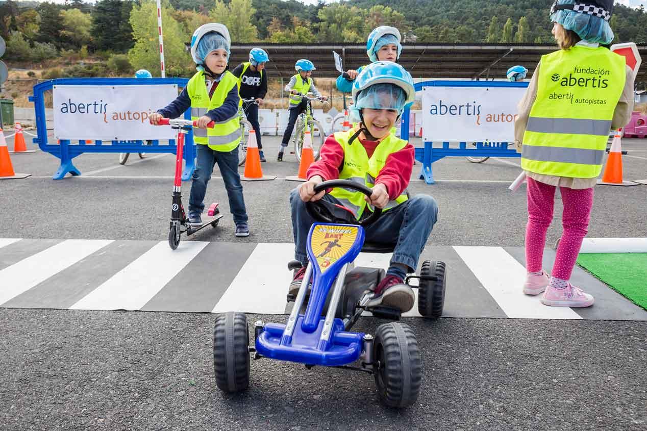 Abertis Autopistas: la diversión de aprender seguridad vial