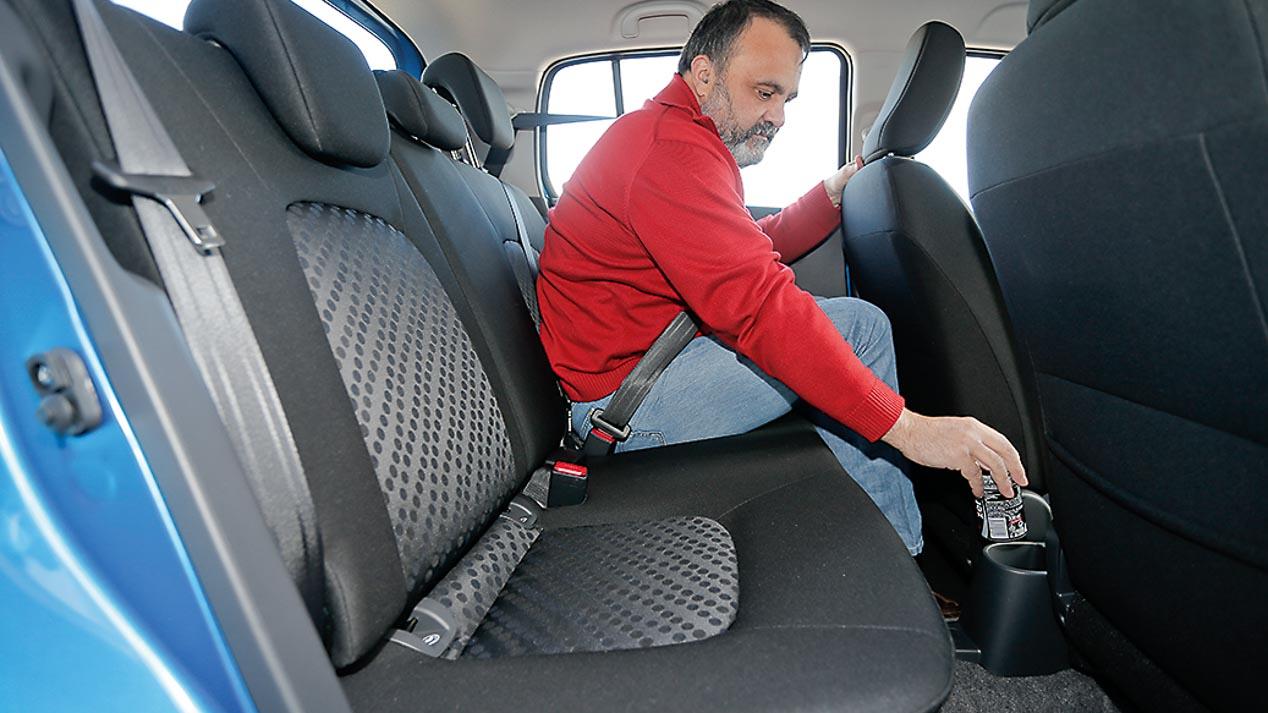 El análisis del espacio de los coches más pequeños, en fotos