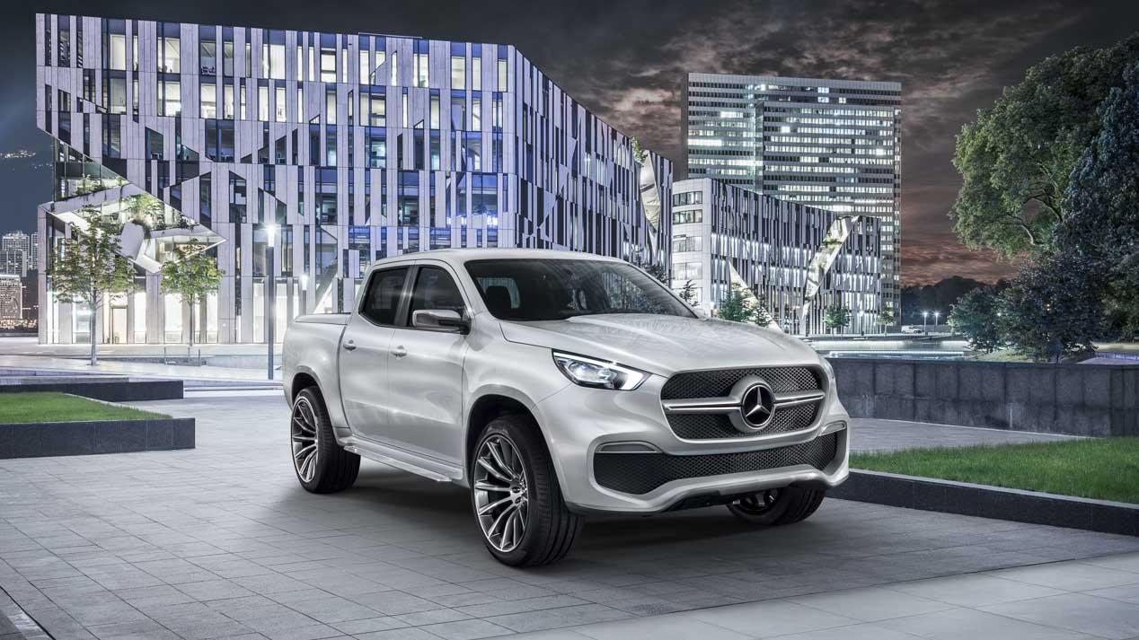 Mercedes Concept X-CLASS, la Clase X casi a punto