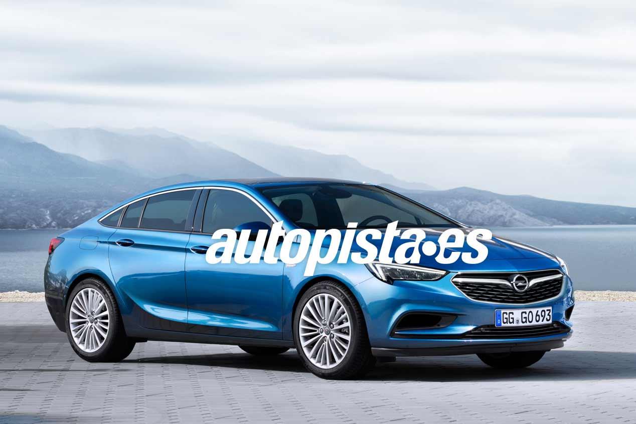 Opel Insignia Grand Sport 2017, primeras fotos
