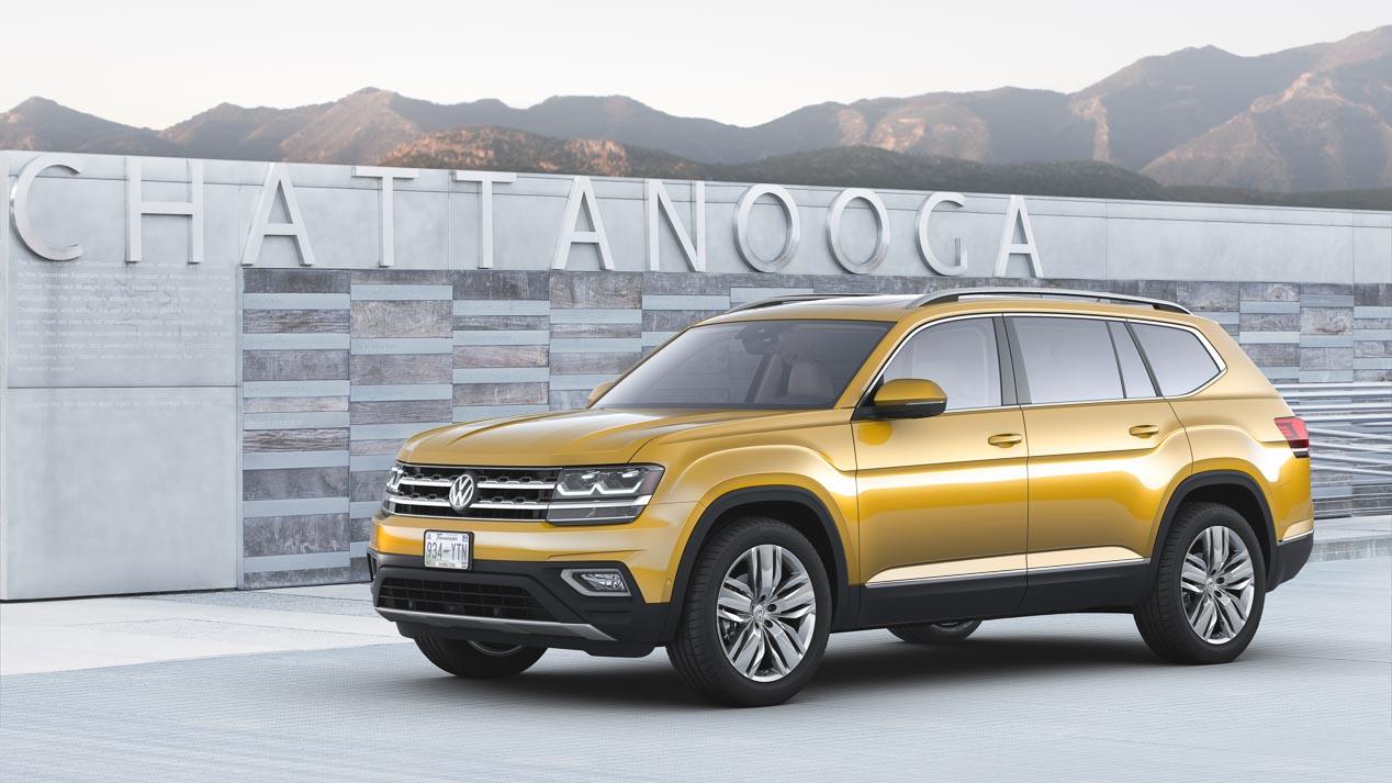 Volkswagen Atlas, un mega Tiguan para el mercado americano