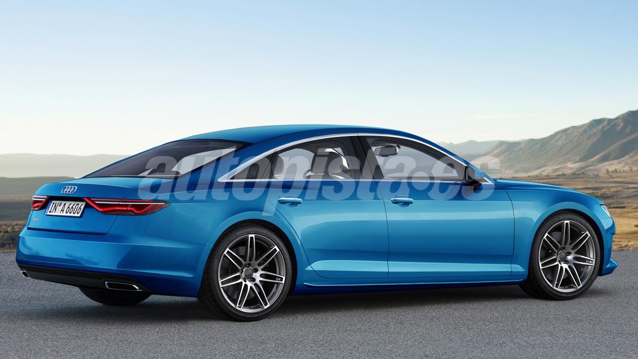 Así será el Audi A6 de 2018