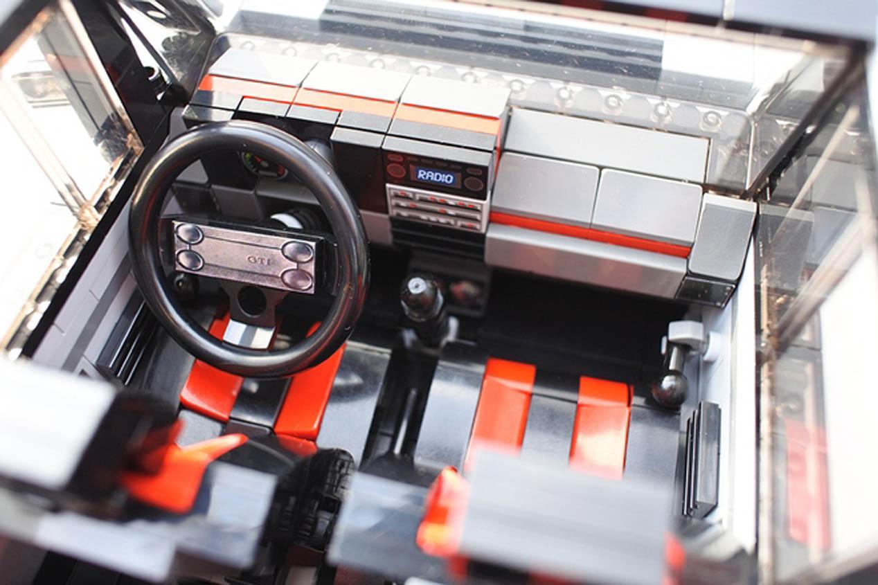 Volkswagen Golf GTI Mk1 de Lego