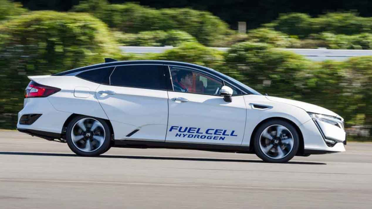 Honda Clarity Fuel Cell, un rival para el Toyota Mirai