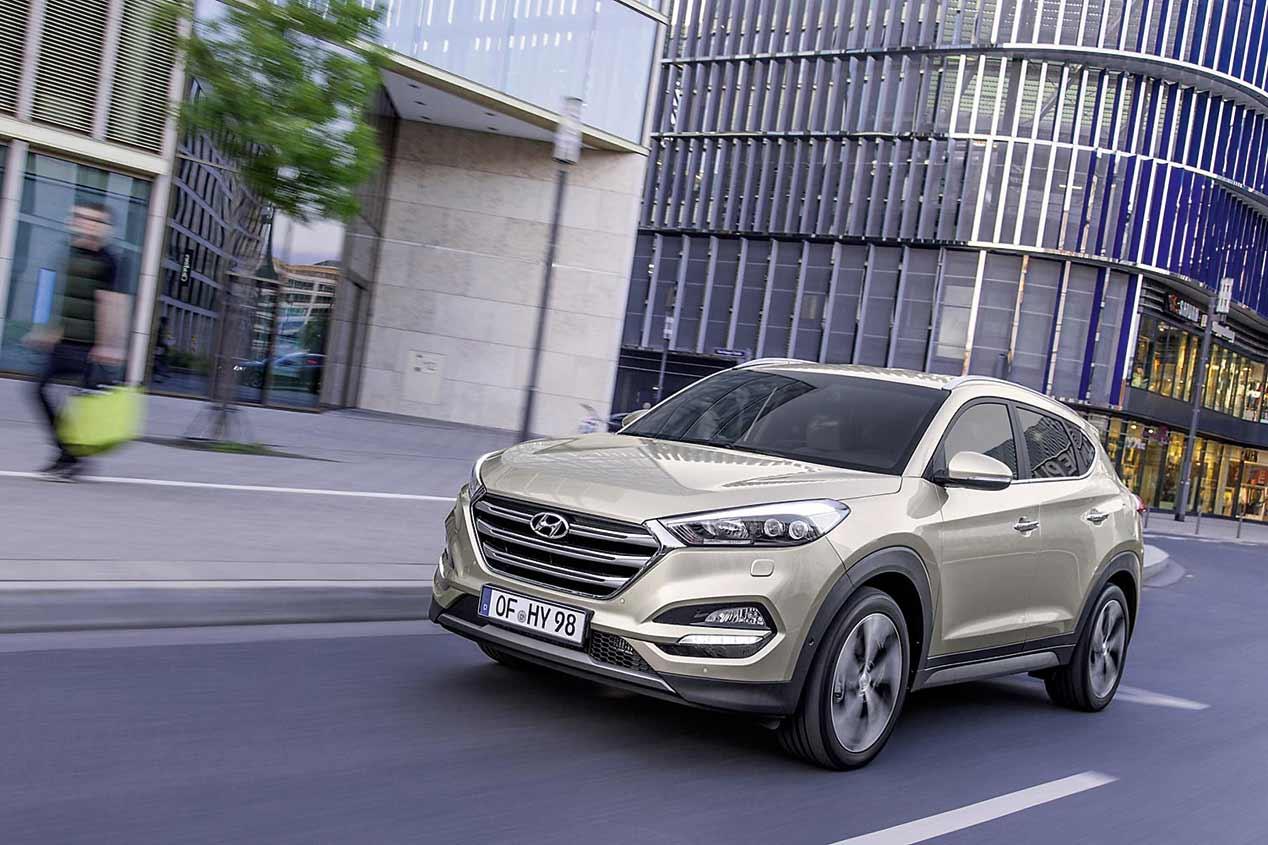 La gama SUV de Hyundai -Tucson, Santa Fe y Grand Santa Fe-, en fotos