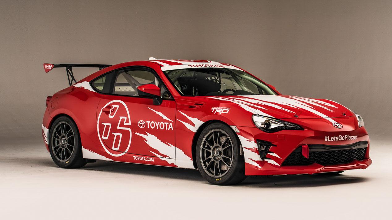 Toyota apuesta por la deportividad en el Salón Sema de Las Vegas
