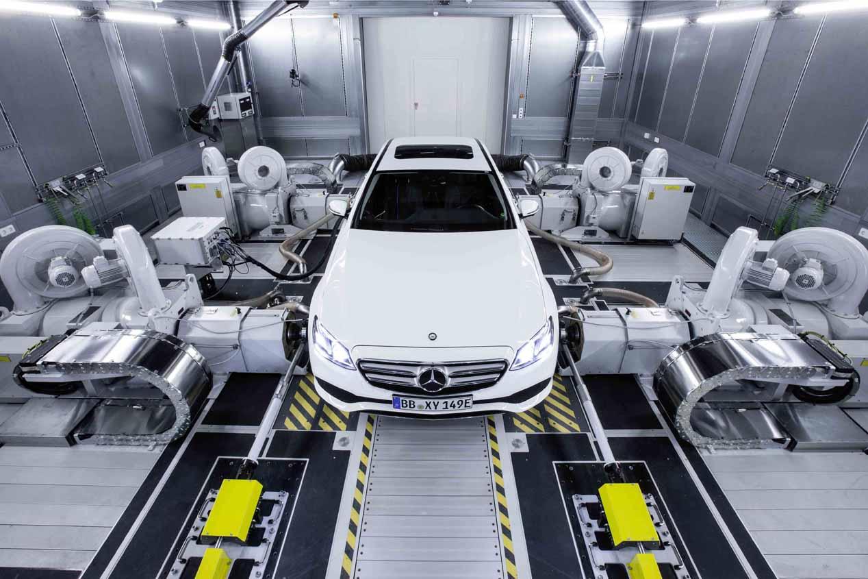 Mercedes estrena motores diesel y gasolina en 2017 arrancando en el Clase S