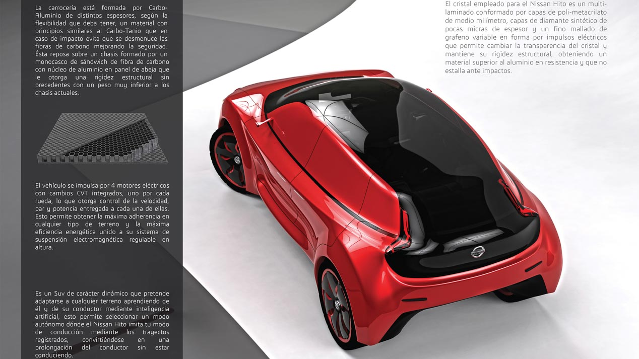 Finalistas y destacados del Concurso de diseño de Autopista, Nissan y la UPV de 2016