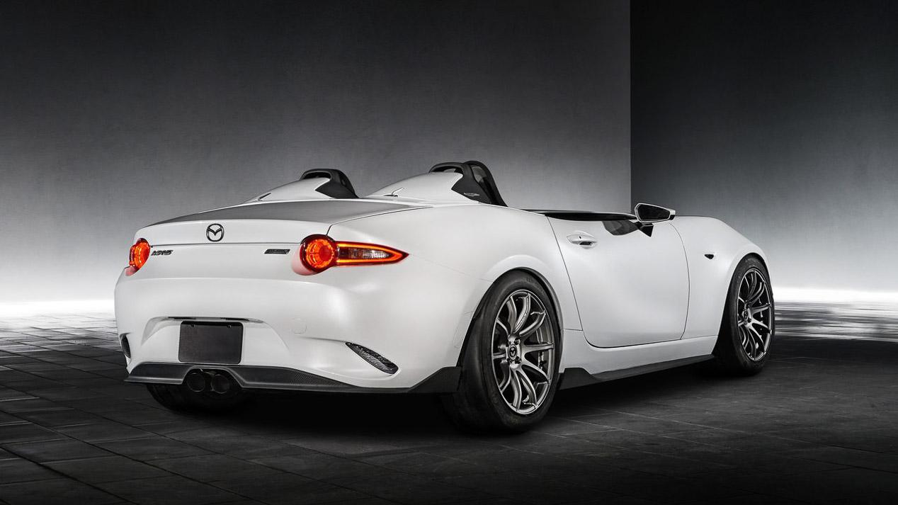 Mazda presenta dos conceptos sobre el MX-5 en el SEMA de las Vegas