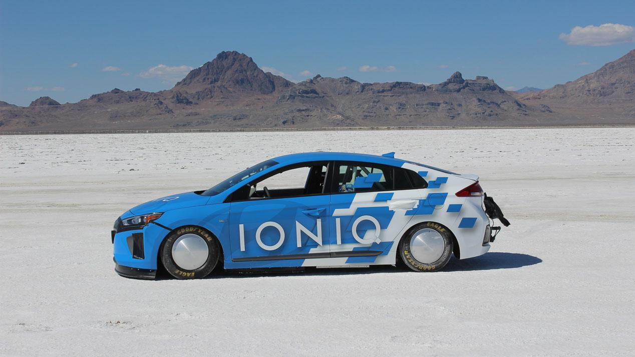 Record de velocidad del Hyundai Ioniq