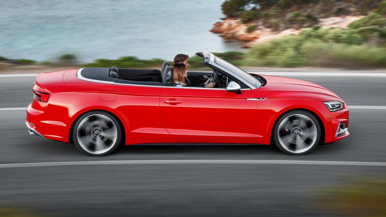 Así son los nuevos Audi A5 y S5 Cabrio