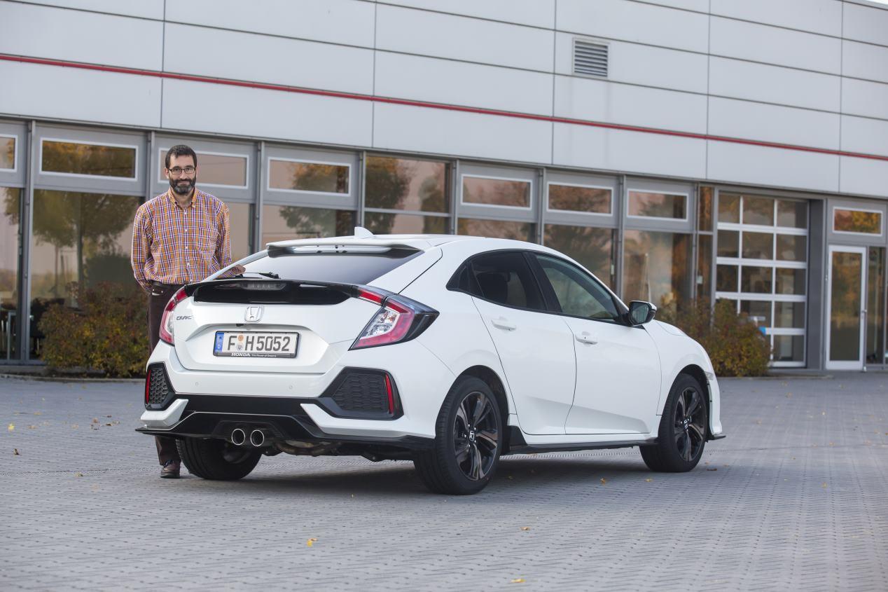 Honda Civic 2017: a prueba el compacto más grande