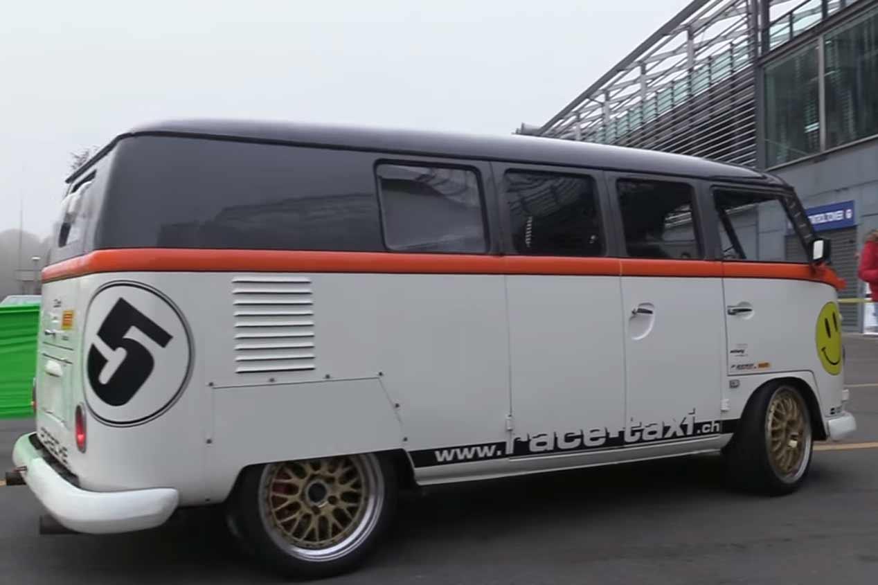 Volkswagen T1 Race Taxi, sus mejores fotos