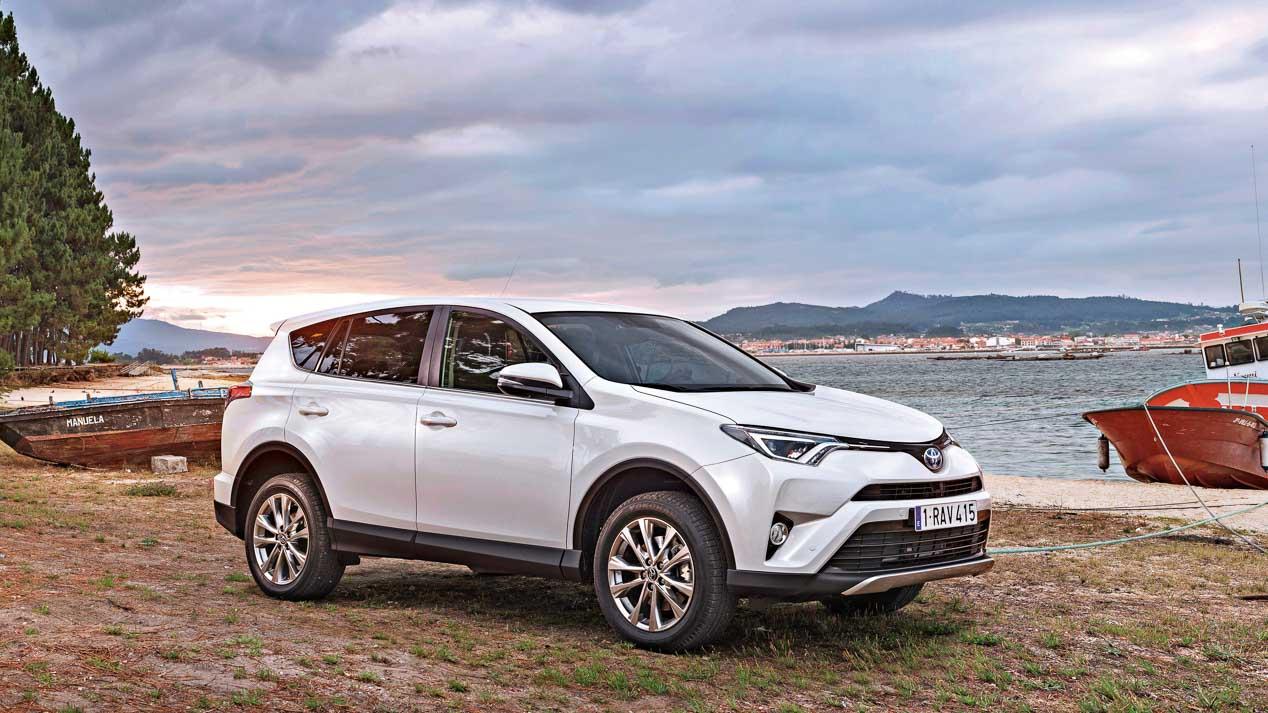 Los SUV de Toyota: C-HR, RAV4, Land Cruiser y Hilux