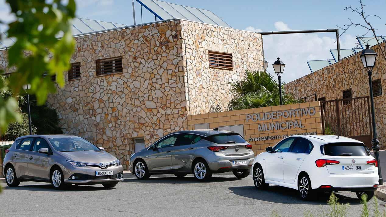 Comparativa Fiat Tipo, Opel Astra y Toyota Auris
