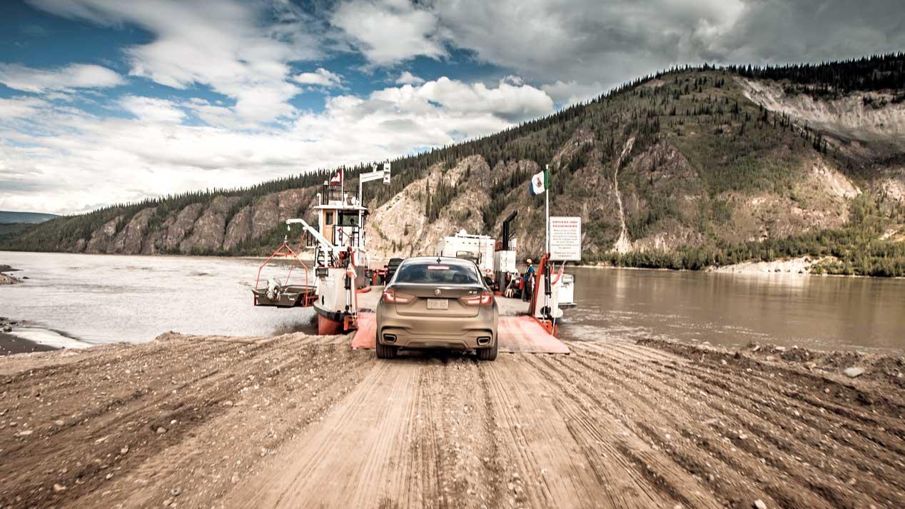 Recorremos Alaska con un BMW X6
